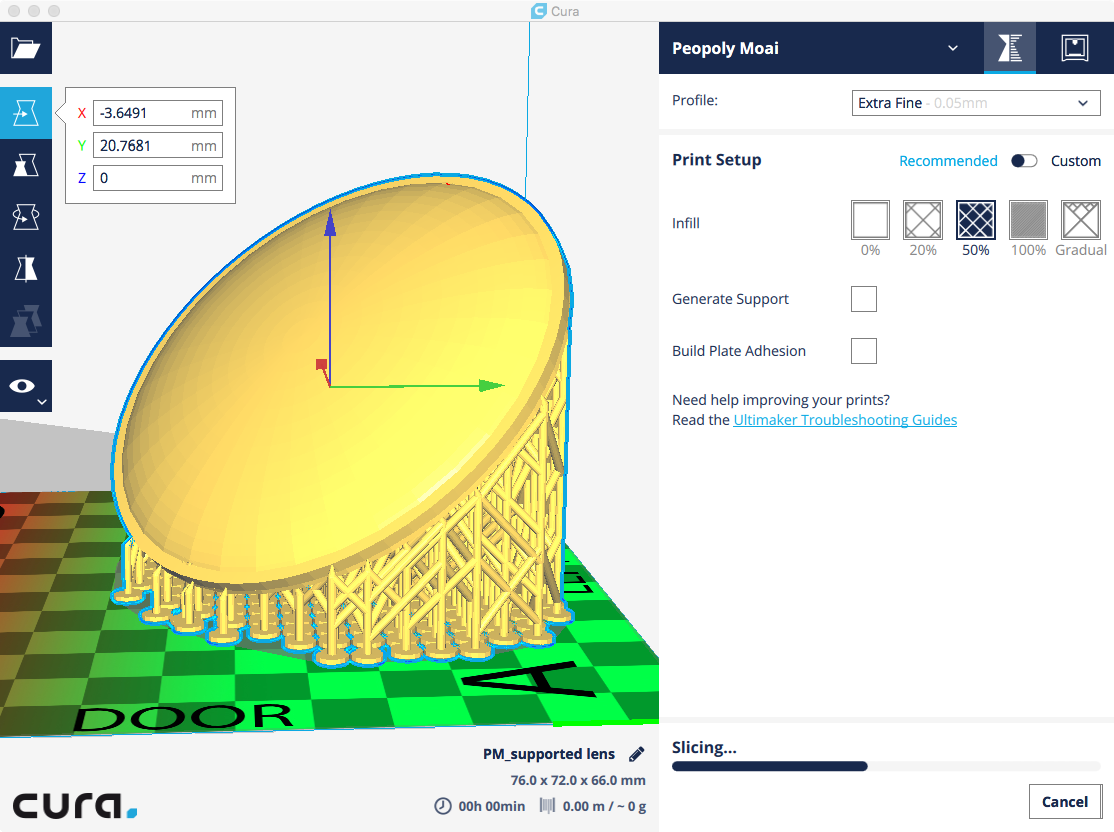Slicing Problems in Cura - Printing advice - Peopoly Forum